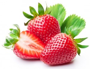 fruits for radiant skin strawberry